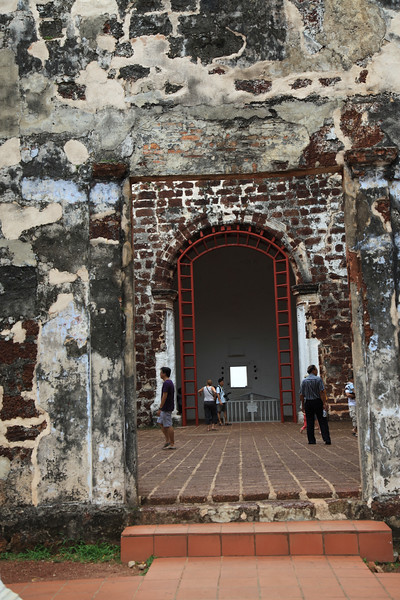 Kościół św. Pawła - najstarszy w Malezji