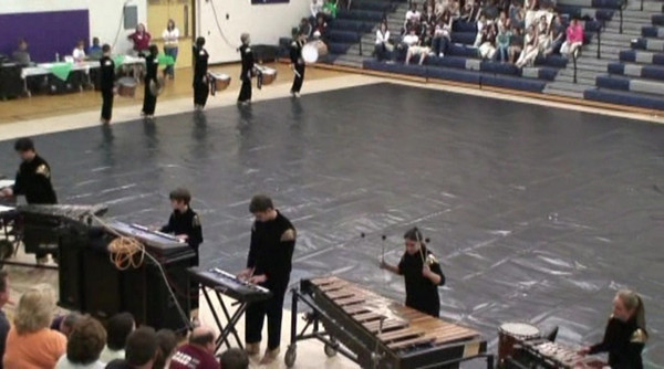 2009-02-13: Cary Winter Spectacular (Drumline)