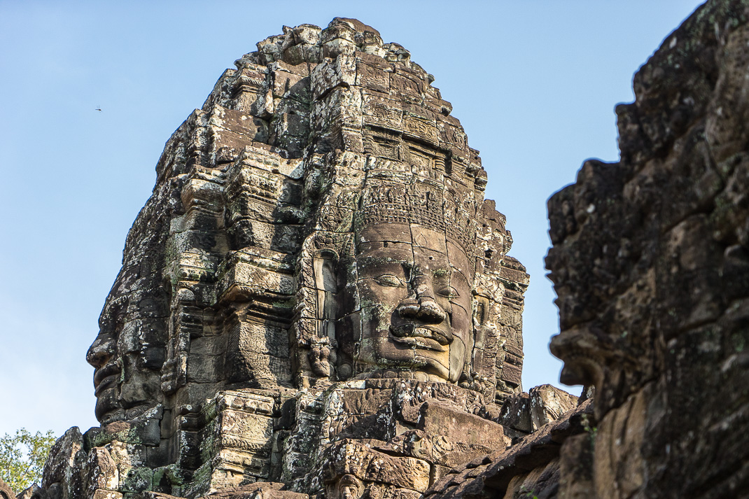 Bayon Temple Closeup Faces