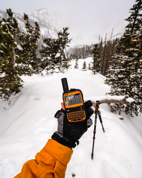 Product Photography | Outdoor Gear | Spot X GPS Device