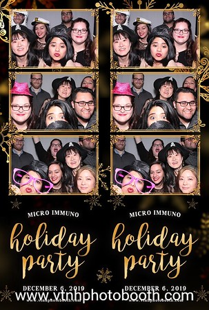 Photo Strips - 12/6/19 - Micro/Immuno Holiday Party