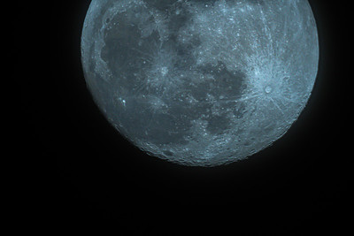 2/7/2020 moon 97.2% Waxing