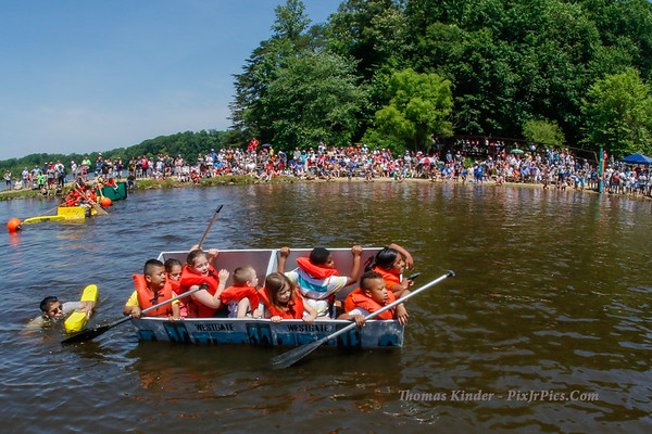 Cardboard Boat Regatta 6/4/17