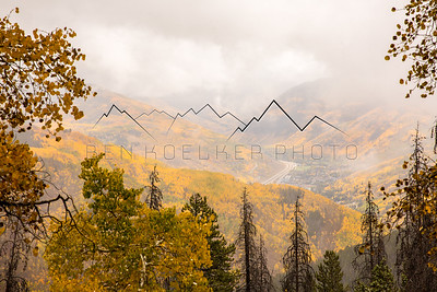 Fall Colors around Vail, CO