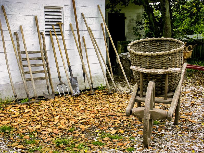 Colonial Williamsburg Scene