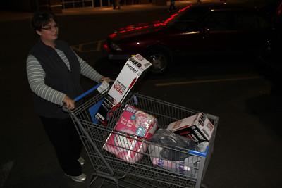 Black Friday, Wal-Mart, Hometown (11-22-2012)