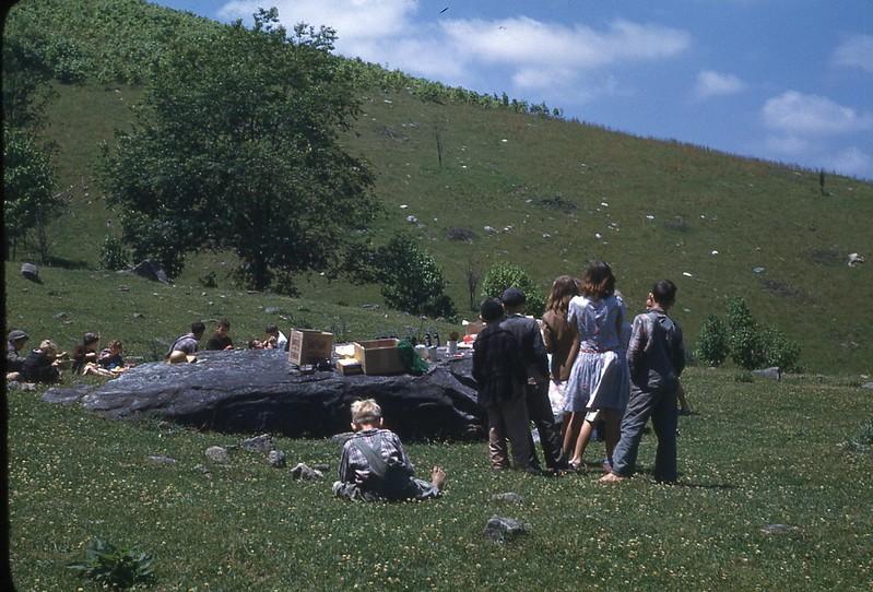 1947 School Picnic Larimer