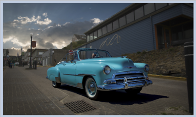 Custom shoot for 1953 Chevy convertible
