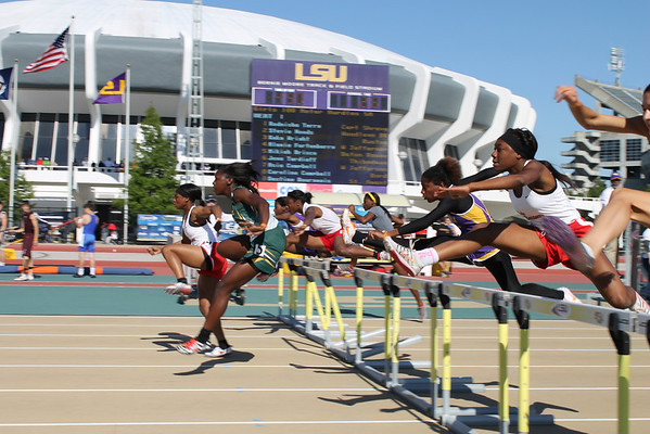 Best of LHSAA Track Meet 5-4-13