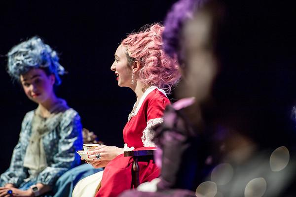 US Maskers Play Marie Antoinette