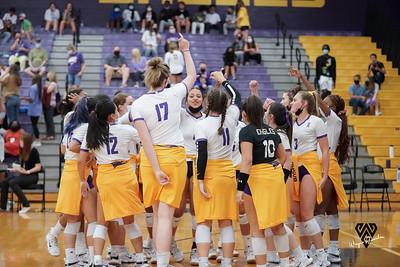 Varsity RHS Volleyball vs Berkner 9-14-2021