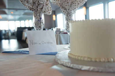 Christine & Norm's Hornblower Wedding