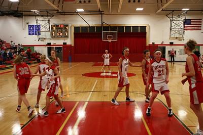 Girls JV Basketball - 2008-2009 - 2/21/2009 Spring Lake
