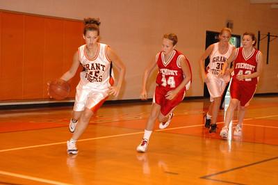 Girls Junior Varsity Basketball - 2006-2007 -  9/7/2006 Grant