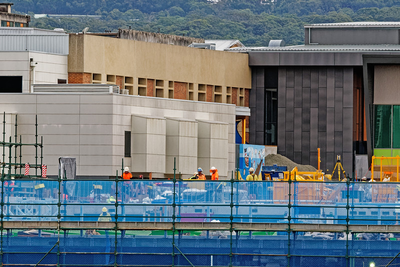 Gosford Hospital building progress H48ed October 2018.