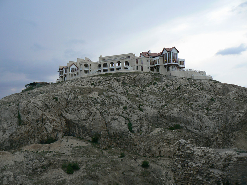 This is new hotel in Harput.