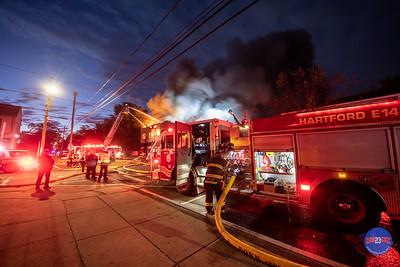Structure Fire - 213 Capen St - Hartford, CT - 10/9/20