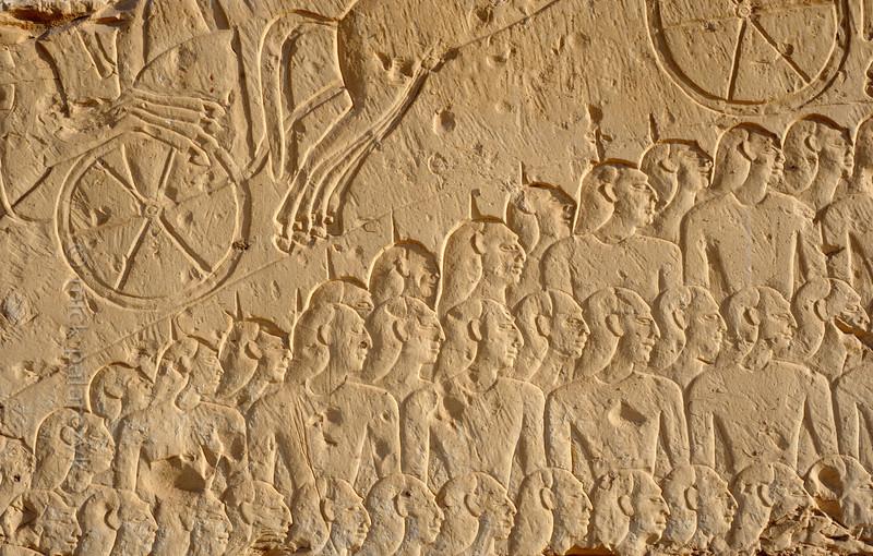 [Egypt 29991] 'Battle of Kadesh at Abydos.'