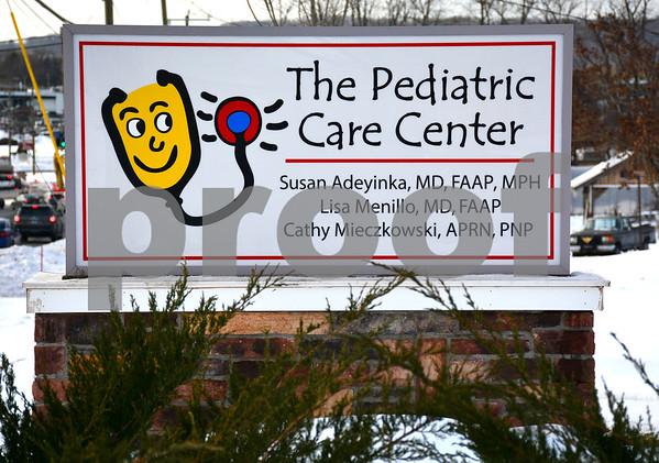 1/9/2017 Mike Orazzi | Staff The Pediatric Care Center on Farmington Avenue in Bristol.