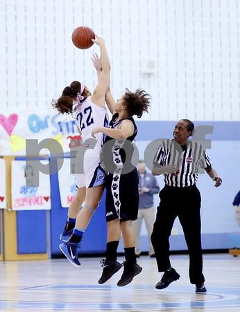 Northwest @ Clarksburg Girls Var Basketball 2015