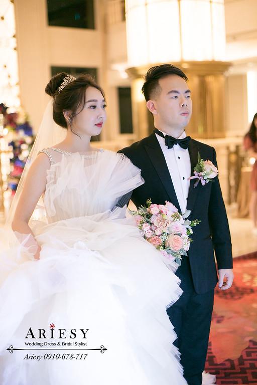 美福,新娘秘書,台北新秘ariesy,時尚名媛新娘,韓風新娘髮型,新娘造型