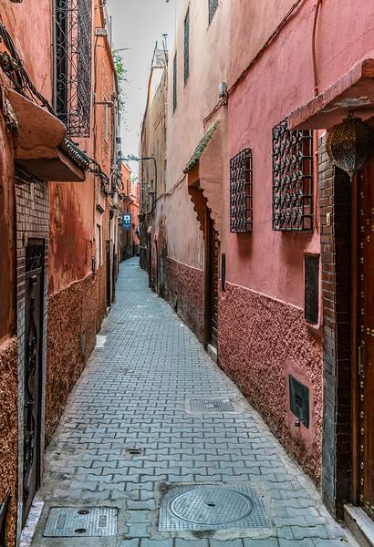 alleyway in Marrakech medina