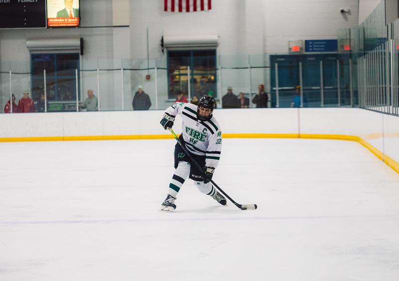Holy Family Boys Varsity Hockey vs. Benilde-St. Margaret's, 12/26/19: Jaden Anderson '20 (22)