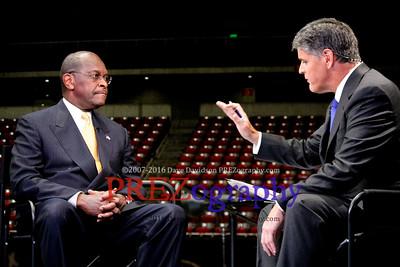 Herman Cain Straw Poll Debate