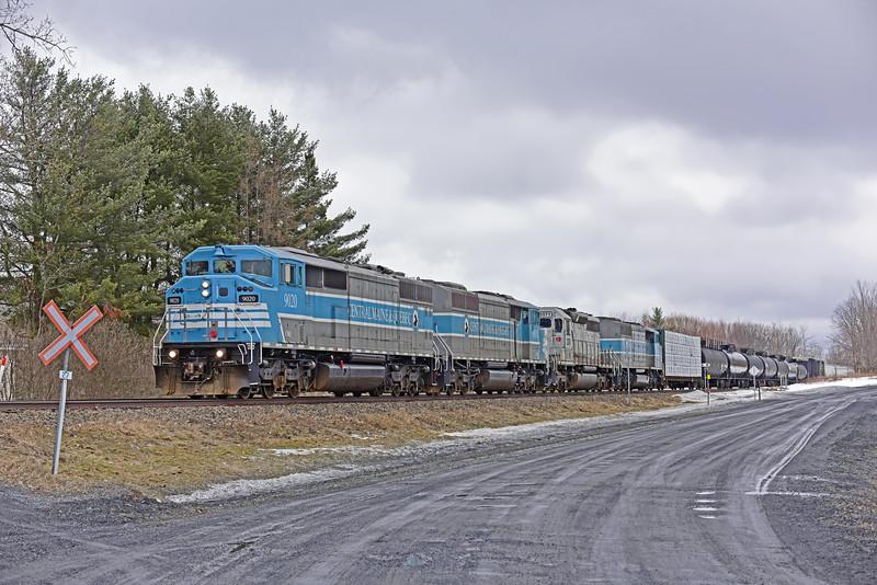 Central Maine & Quebec Job 1, Brookport, Quebec, March 2019.