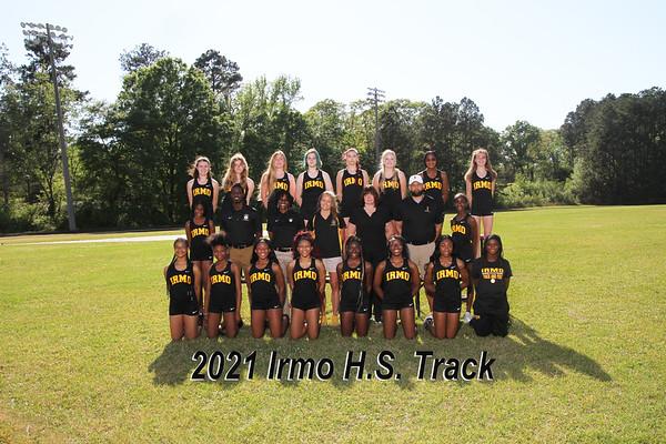 2021 Irmo girls varsity track