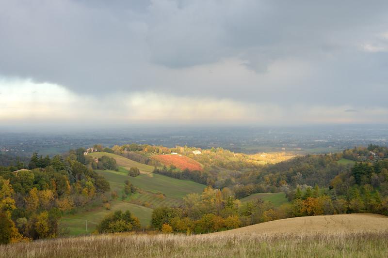 Rain Coming In - Montericco, Albinea, Reggio Emilia, Italy - November 6, 2012