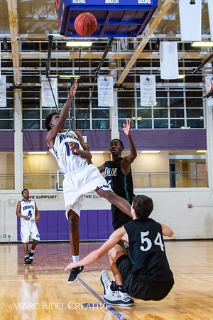 Broughton boys JV basketball vs Enloe. January 4, 2019. 1-4-19 BasketballBV00803