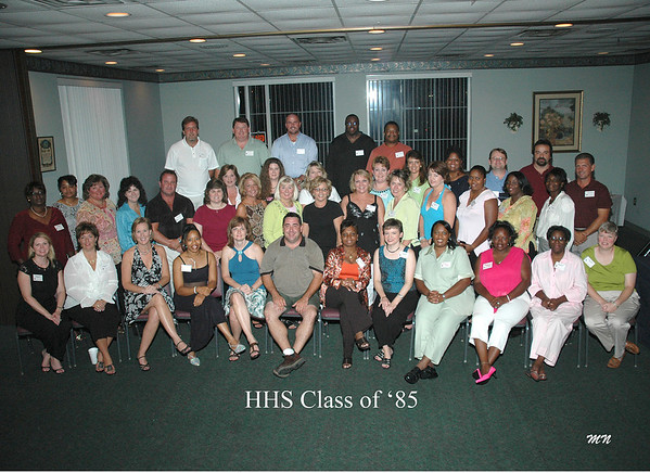 Class of 85 in 2005
