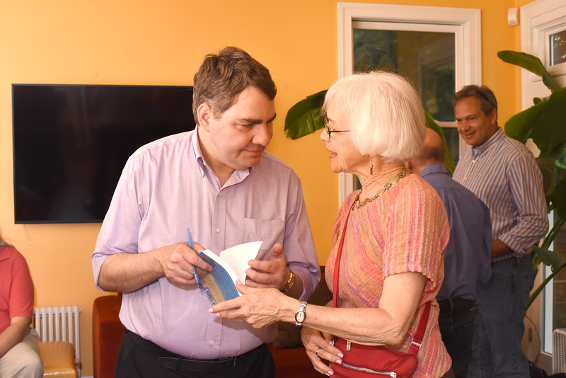 Mike Lux, Pat Wand. Blue Wave Book Opening. June 5, 2018. 616 North Carolina St SE. Amanda Warden..JPG
