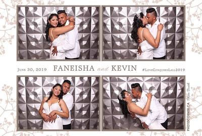 Faneisha & Kevin  - 06-30-2019