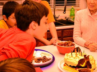 Aiden's 11th Birthday