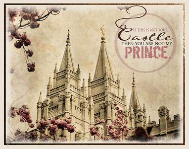 Vintage LDS Temple Prints for Youth