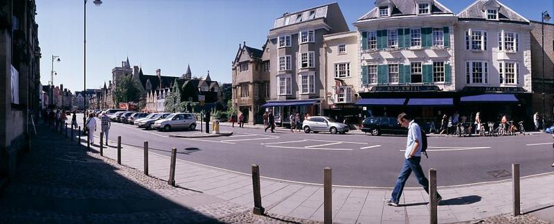 oxford street scene