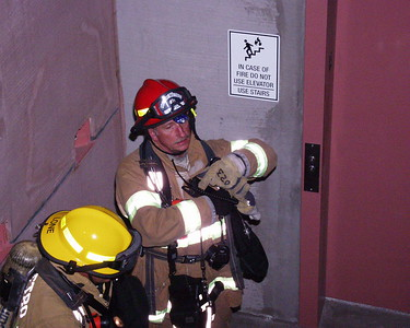 Stairwell Hose Deployments