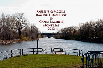 Queen's & McGill Rowing Challenge 2012