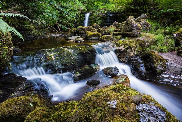 Waterfalls of Clachan of Campsie
