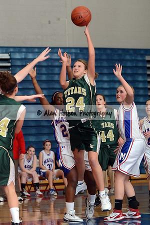Girls JV Basketball - Lumen Christi at Mason - Feb 17