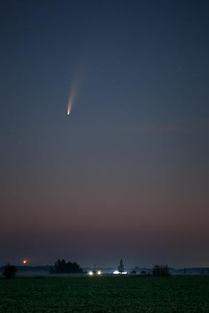 2020/07/09 Comet NEOWISE Navan Ontario