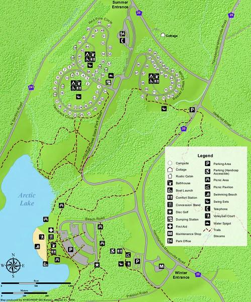 Oquaga Creek State Park (Campground Map)