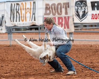 Saturday - Jr High - Goat Tying - Girls