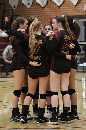 2018 girls volleyball Salpointe Nogales