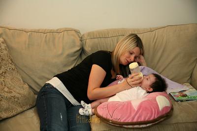 Baby Rylynn-7 weeks-11.25.09