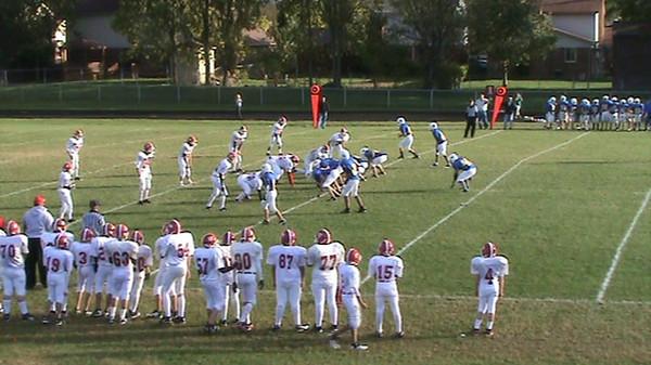 Powell 8th Grade, Game 2 vs Wyandotte, 10-5-10