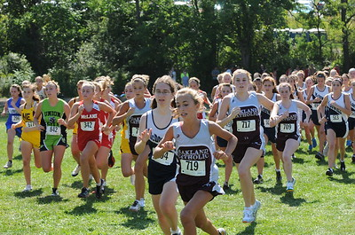 Girls JV Race