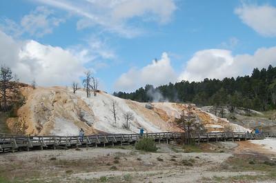 Yellowstone NP Geysers en Hotsprings
